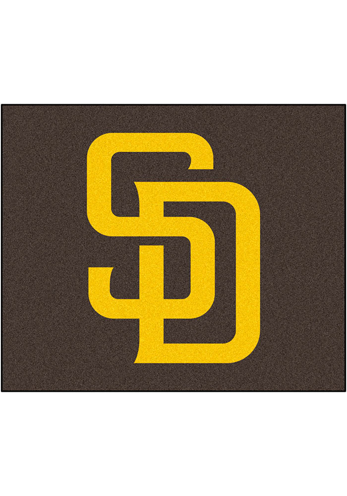 San Diego Padres 60x72 Tailgater BBQ Grill Mat - Image 1