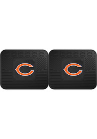 Sports Licensing Solutions Chicago Bears Backseat Utility mats Car Mat - Black