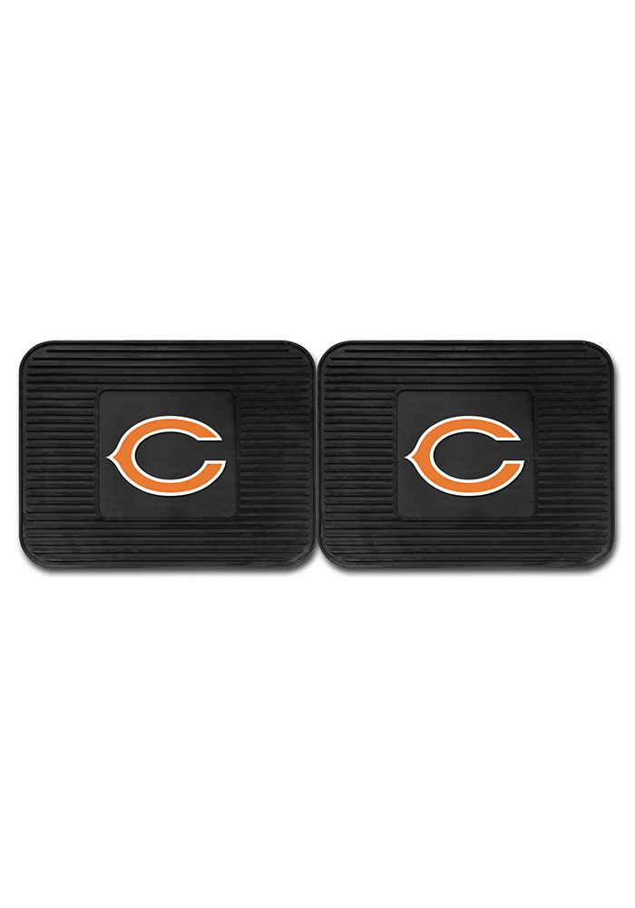Sports Licensing Solutions Chicago Bears Backseat Utility mats Car Mat - Black - Image 2