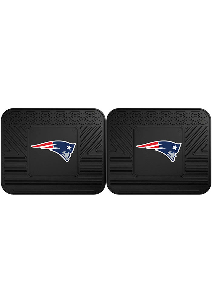 Sports Licensing Solutions New England Patriots Backseat Utility mats Car Mat - Black - Image 1