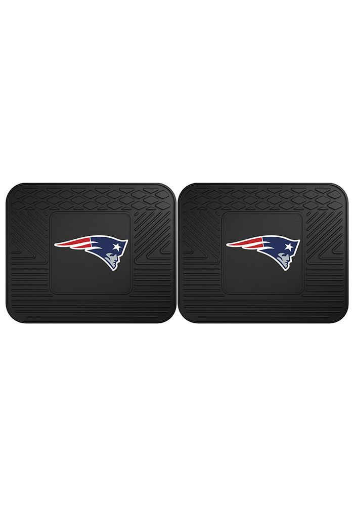 Sports Licensing Solutions New England Patriots Backseat Utility mats Car Mat - Black - Image 2