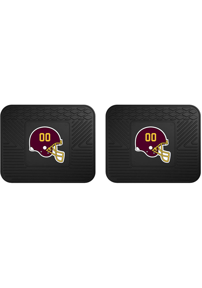 Enjoyable Sports Licensing Solutions Washington Redskins Backseat Utility Mats Car Mat Black 1653781 Squirreltailoven Fun Painted Chair Ideas Images Squirreltailovenorg