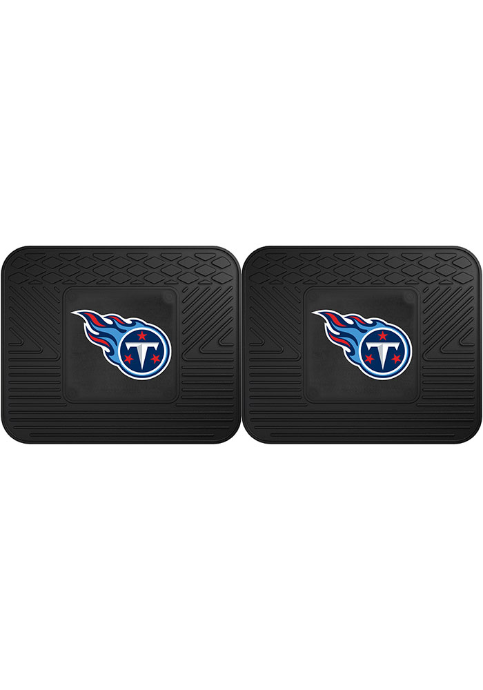 Sports Licensing Solutions Tennessee Titans Backseat Utility mats Car Mat - Black - Image 1