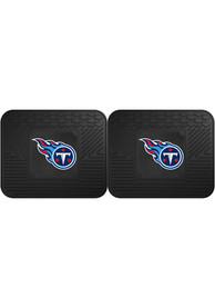 Sports Licensing Solutions Tennessee Titans Backseat Utility mats Car Mat - Black