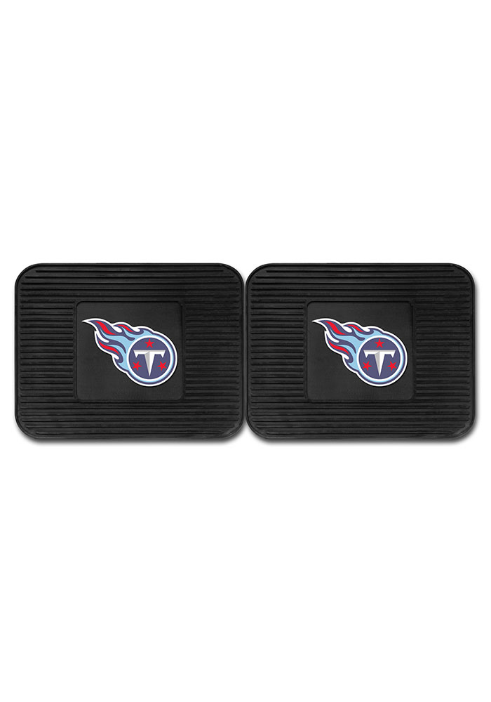 Sports Licensing Solutions Tennessee Titans Backseat Utility mats Car Mat - Black - Image 2