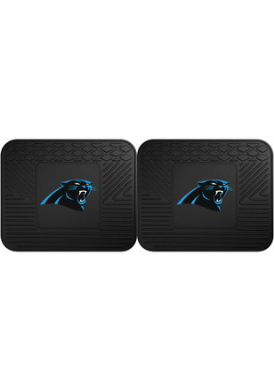 Carolina Panthers backseat utility mats Car Mat