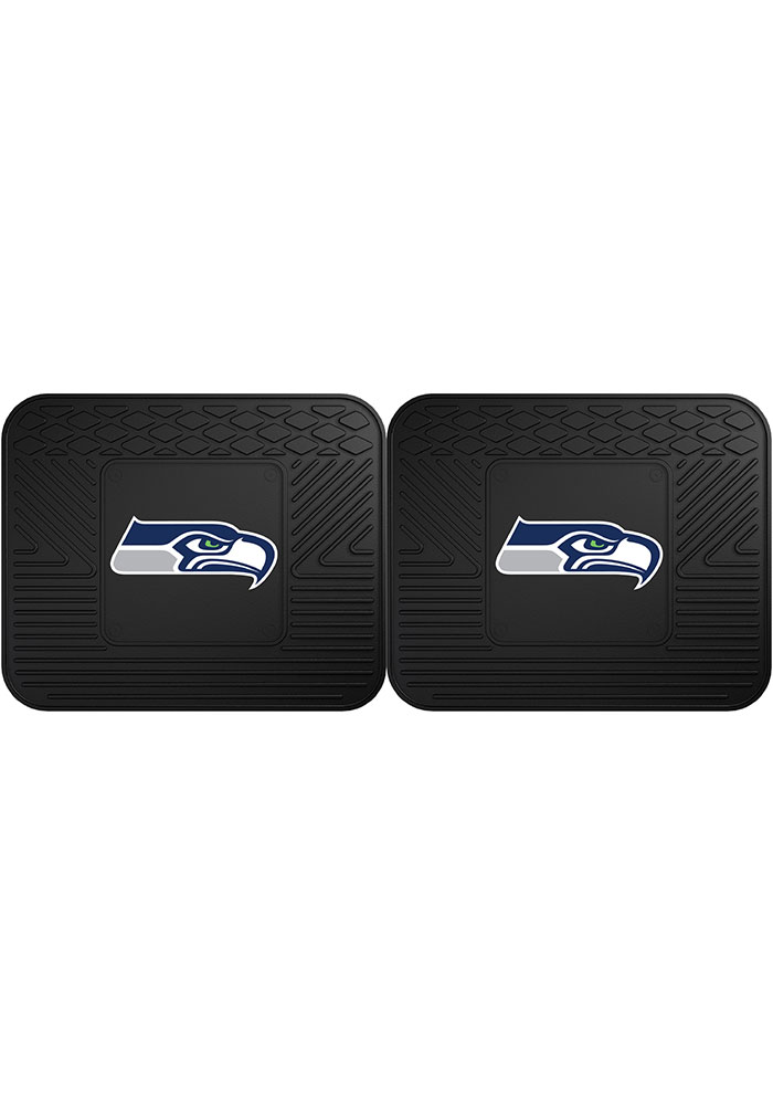 Seattle Seahawks Backseat Utility mats Car Mat - Image 1