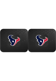 Sports Licensing Solutions Houston Texans Backseat Utility mats Car Mat - Black