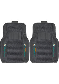 Sports Licensing Solutions Miami Dolphins 21x27 Deluxe Car Mat - Black