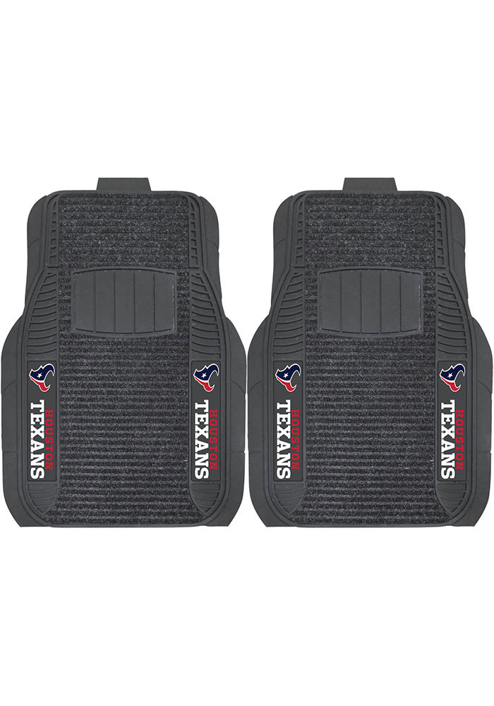Sports Licensing Solutions Houston Texans 21x27 Deluxe Car Mat - Black - Image 1