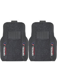 Sports Licensing Solutions Houston Texans 21x27 Deluxe Car Mat - Black