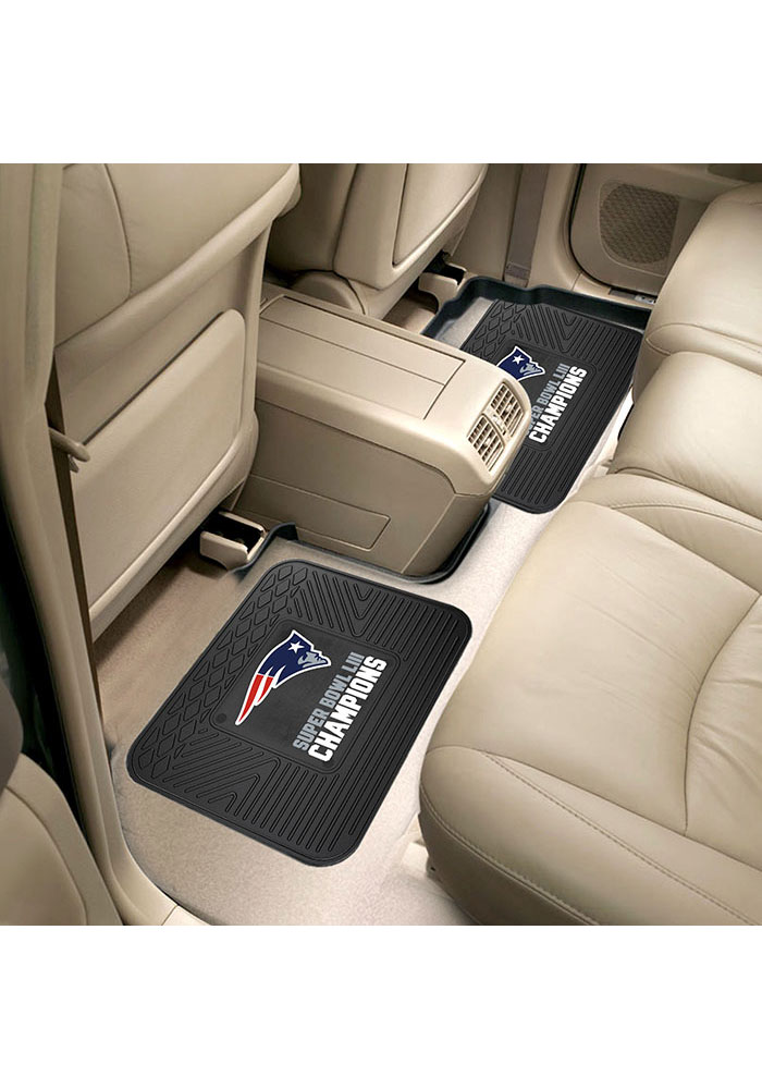 Sports Licensing Solutions New England Patriots Super Bowl LIII Champions Car Mat - Navy Blue - Image 1