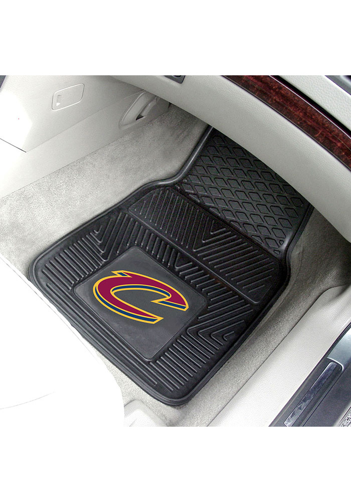 Sports Licensing Solutions Cleveland Cavaliers 18227 Vinyl Car Mat - Image 1