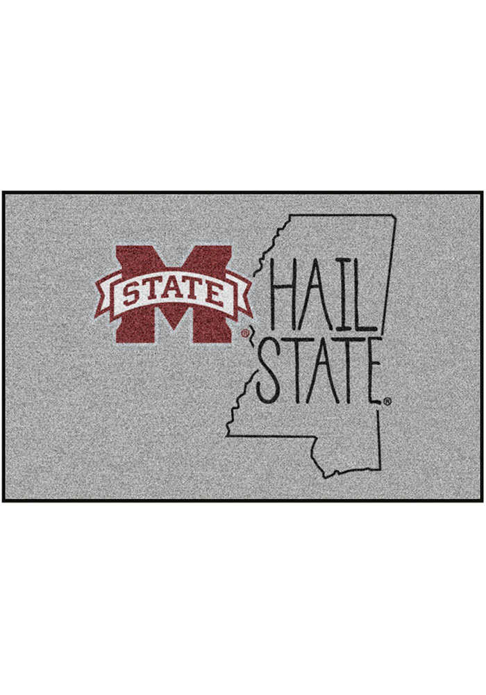 Mississippi State Bulldogs Southern Style 19x30 Starter Interior Rug - Image 1