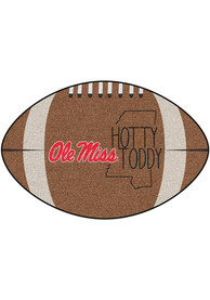 Ole Miss Rebels Southern Style 20x32 Football Interior Rug