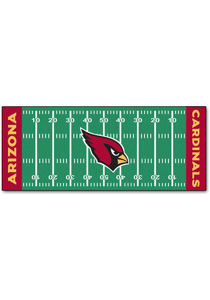 Arizona Cardinals 30x72 Runner Rug Interior Rug - Image 1