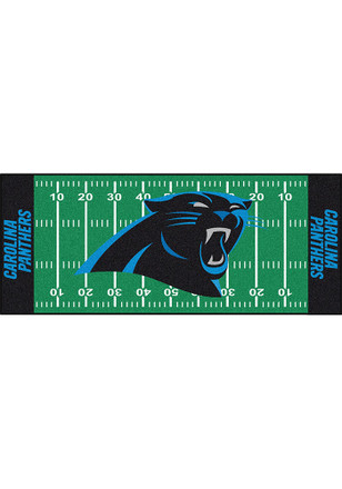 Carolina Panthers 30x72 Runner Rug Interior Rug