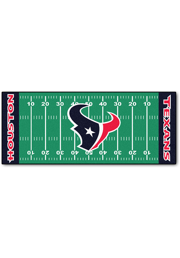 Houston Texans 30x72 Runner Rug Interior Rug - Image 1