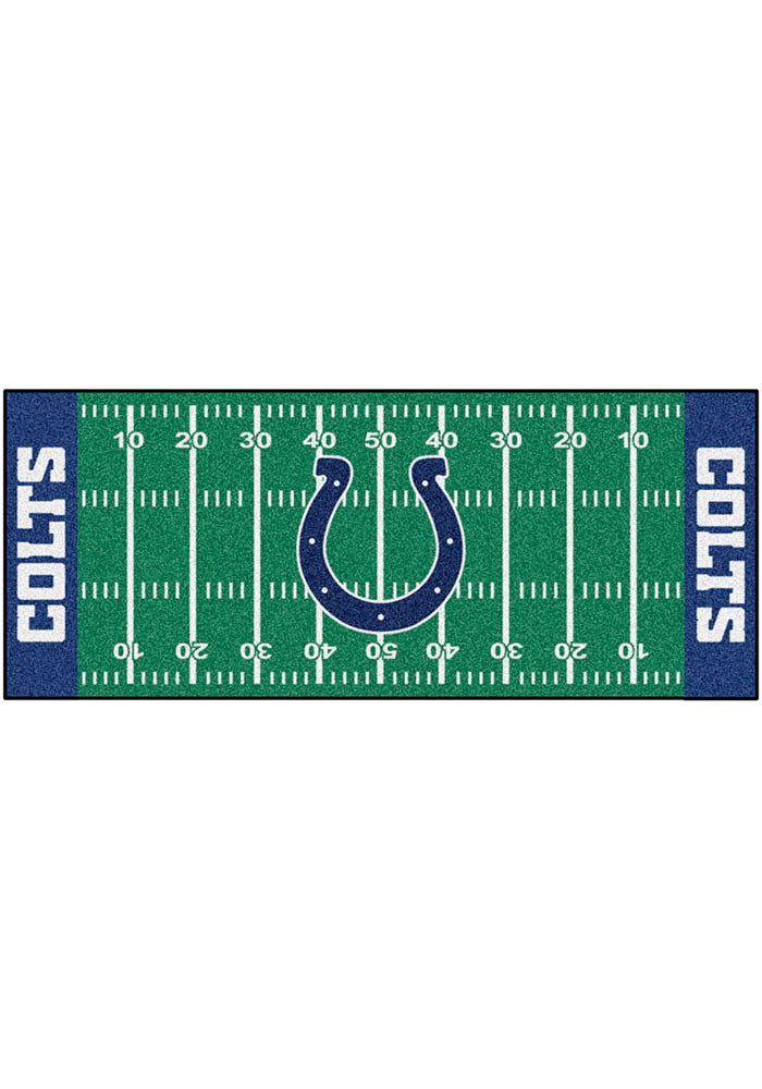 Indianapolis Colts 30x72 Runner Rug Interior Rug - Image 1