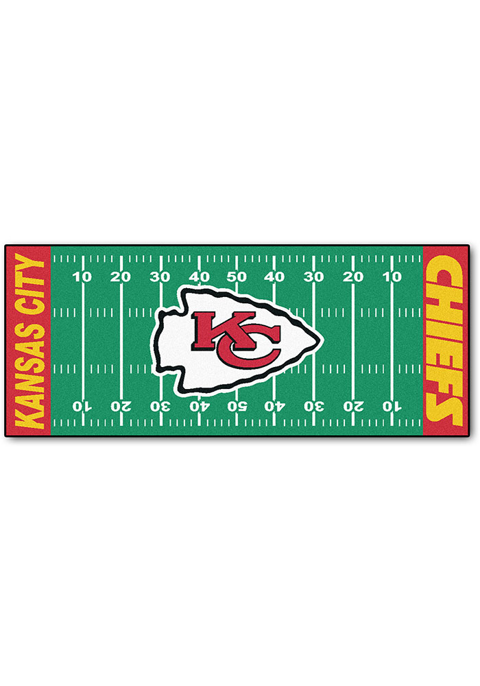 Kansas City Chiefs 30x72 Runner Rug Interior Rug - Image 1