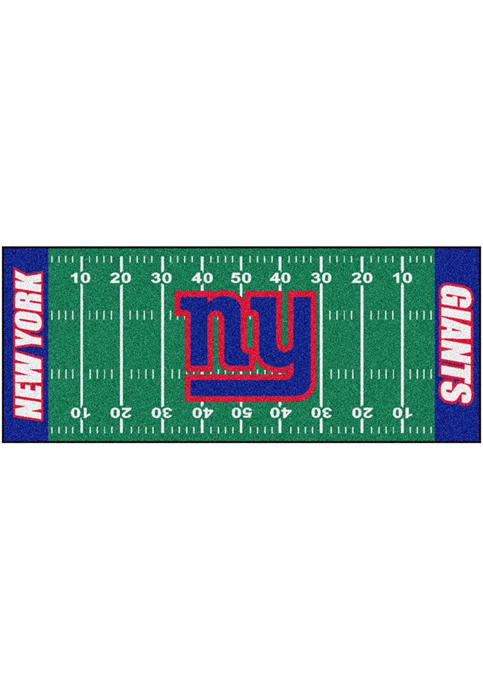New York Giants 30x72 Runner Rug Interior Rug - Image 1