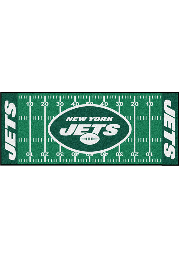 New York Jets 30x72 Runner Rug Interior Rug - Image 1