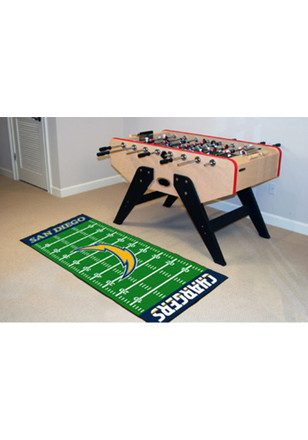 San Diego Chargers 30x72 Runner Rug Interior Rug