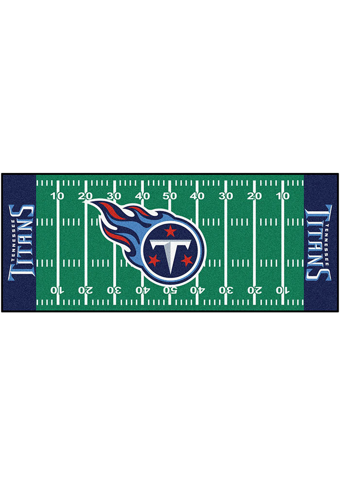 Tennessee Titans 30x72 Runner Rug Interior Rug - Image 1