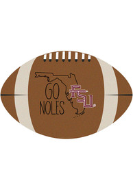 Florida State Seminoles Southern Style 20x32 Football Interior Rug