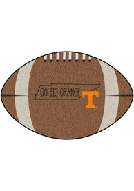 Tennessee Volunteers Southern Style 20x32 Football Interior Rug