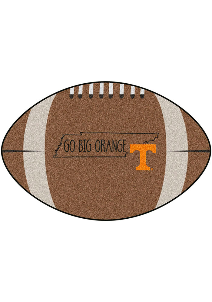 Tennessee Volunteers Southern Style 20x32 Football Interior Rug - Image 2