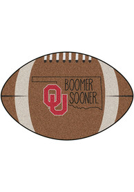 Oklahoma Sooners Southern Style 20x32 Football Interior Rug