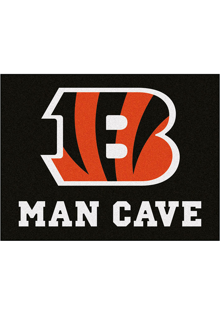 Cincinnati Bengals 34x45 All Star Rug Interior Rug - Image 1