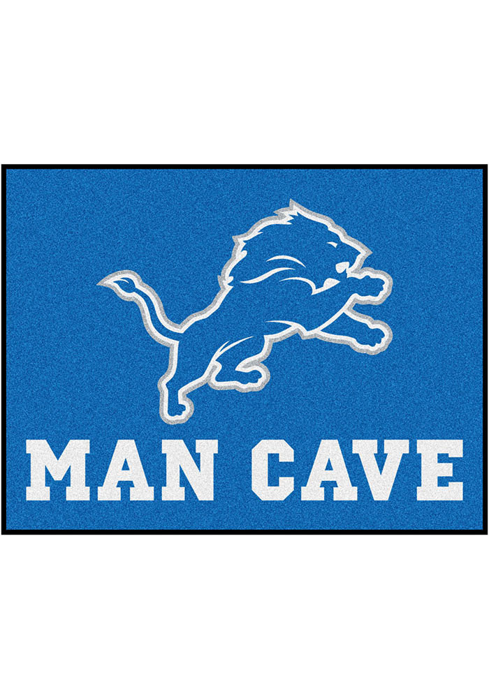 Detroit Lions 34x45 All Star Rug Interior Rug - Image 1