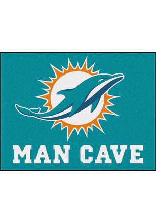 Miami Dolphins 34x45 All Star Rug Interior Rug