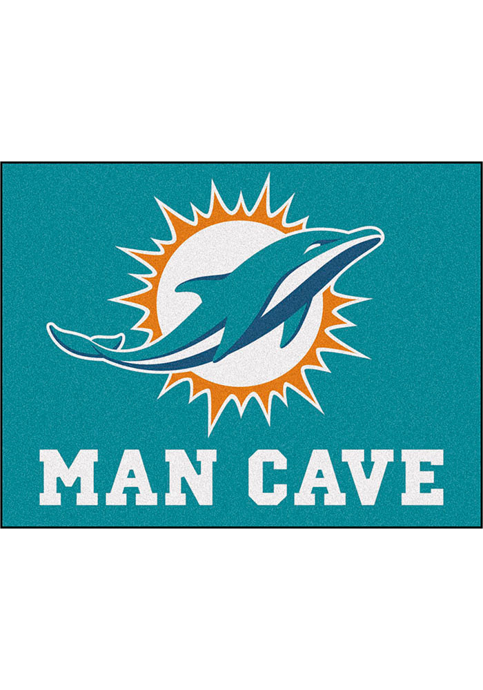 Miami Dolphins 34x45 All Star Rug Interior Rug - Image 1