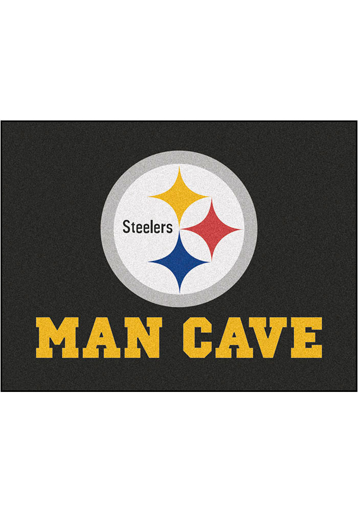 Pittsburgh Steelers 34x45 All Star Rug Interior Rug - Image 1