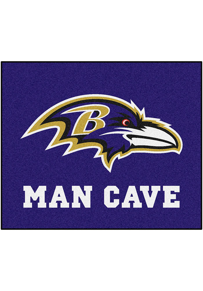 Baltimore Ravens 60x72 Tailgater BBQ Grill Mat - Image 1
