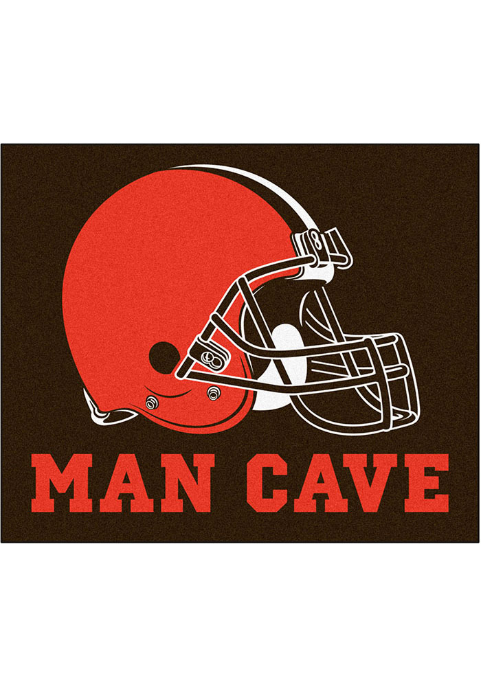 Cleveland Browns 60x72 tailgater BBQ Grill Mat - Image 1