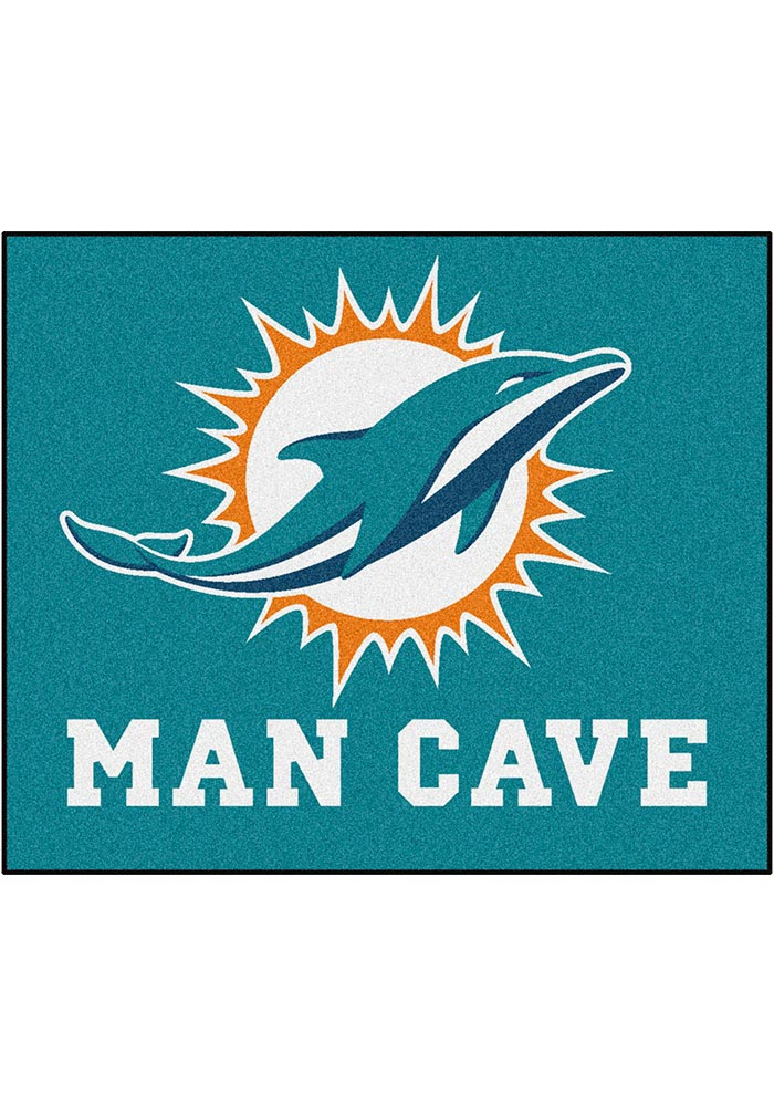 Miami Dolphins 60x72 Tailgater BBQ Grill Mat - Image 1