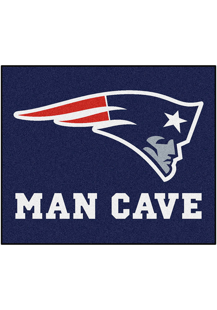 New England Patriots 60x72 Tailgater BBQ Grill Mat - Image 1