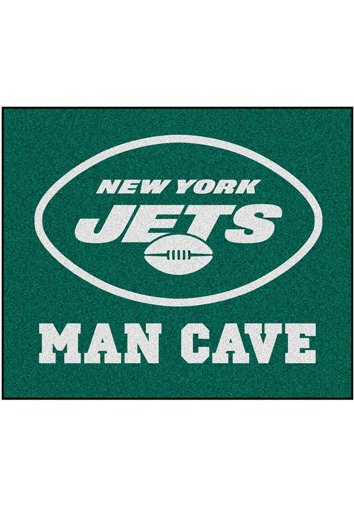 New York Jets 60x72 Tailgater BBQ Grill Mat - Image 1
