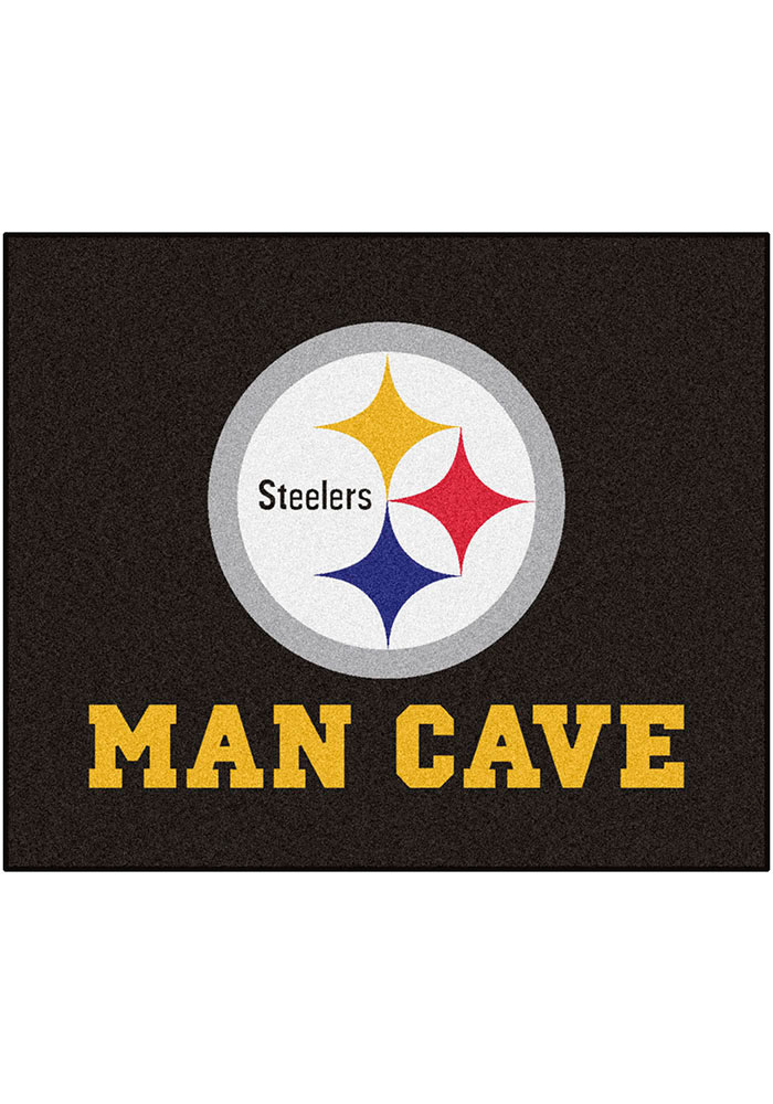 Pittsburgh Steelers 60x72 Tailgater BBQ Grill Mat - Image 1