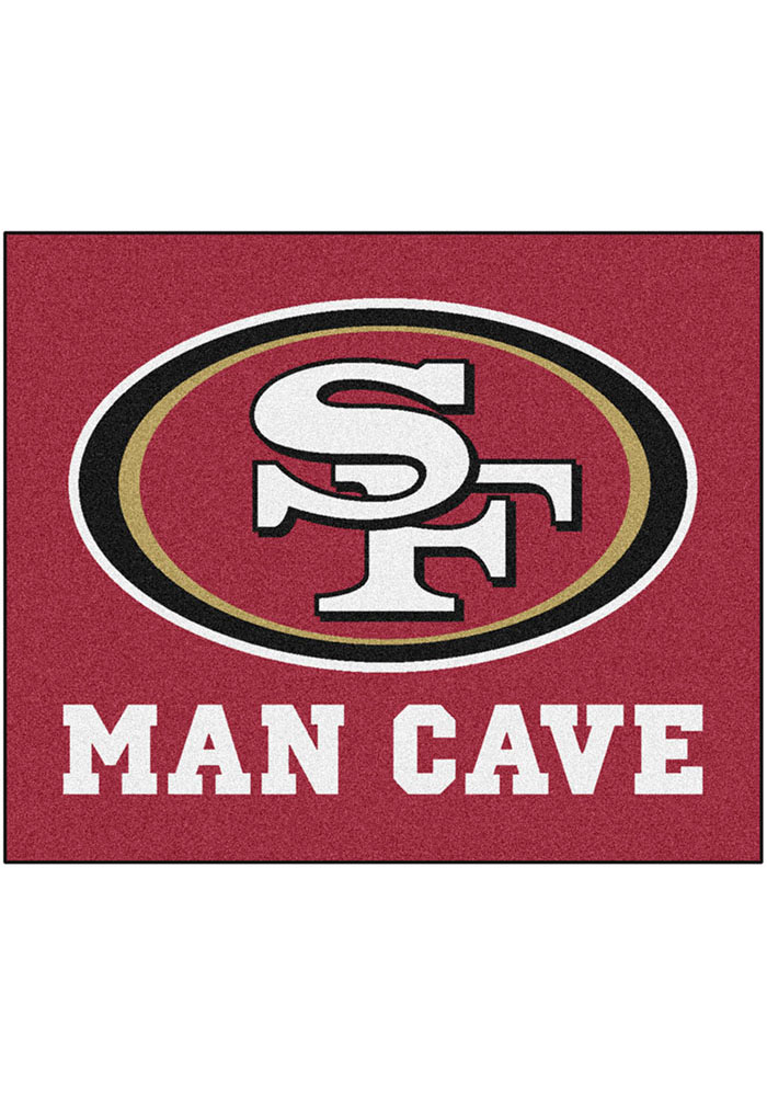 San Francisco 49ers 60x72 Tailgater BBQ Grill Mat - Image 1