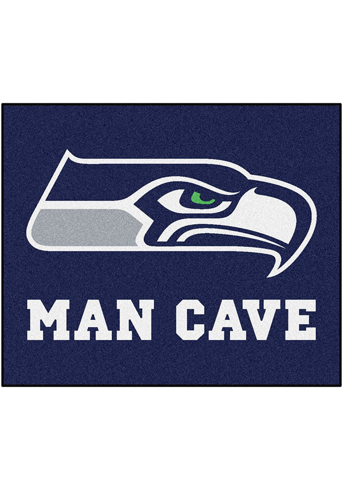 Seattle Seahawks 60x72 Tailgater BBQ Grill Mat - Image 1