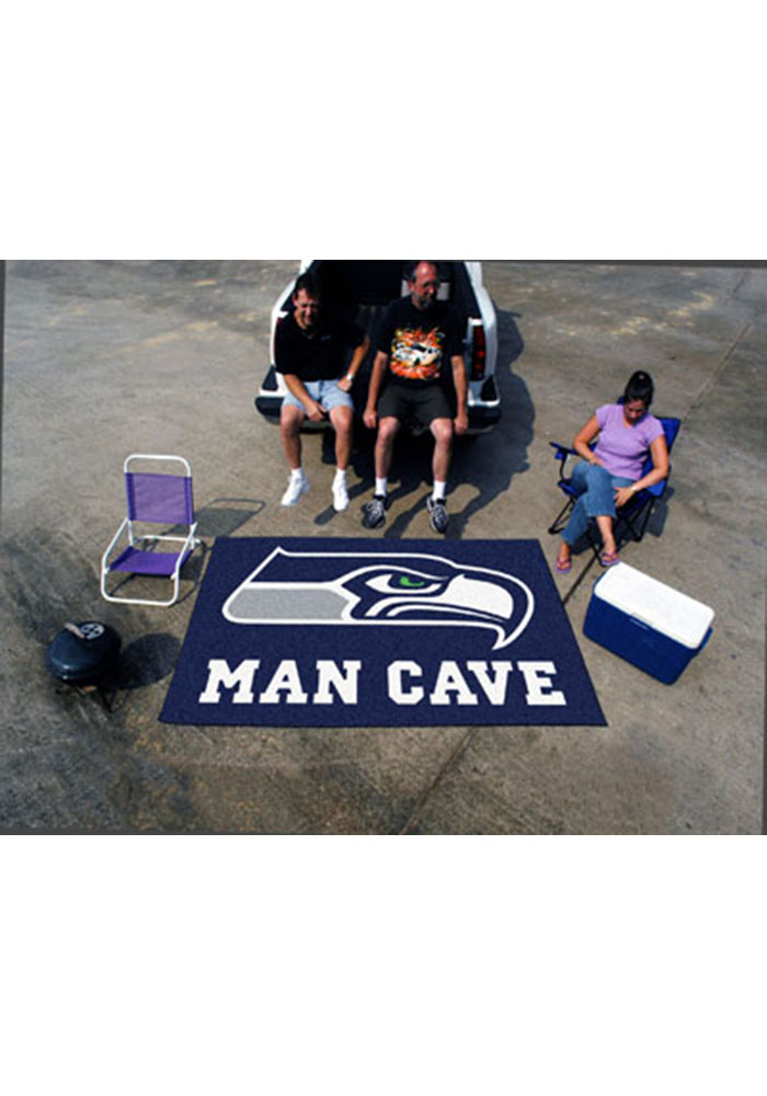 Seattle Seahawks 60x96 Ultimat BBQ Grill Mat - Image 1