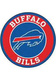 Buffalo Bills 26 Roundel Interior Rug