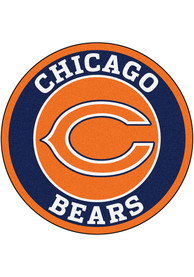 Chicago Bears 26 Roundel Interior Rug