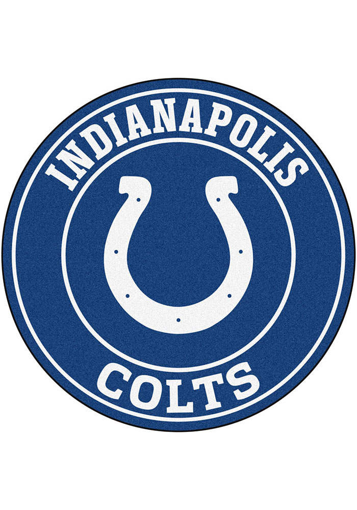Indianapolis Colts 26g Roundel Interior Rug - Image 1