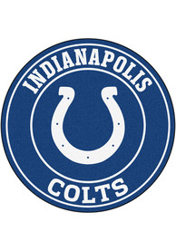 Indianapolis Colts 26 Roundel Interior Rug